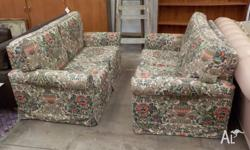 This is a lovely pair of two seater