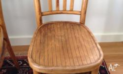 Pair of gorgeous elm chairs. There is some age to these
