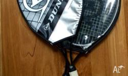 Two Dunlop tennis rackets for sale. Sold as pair. Model