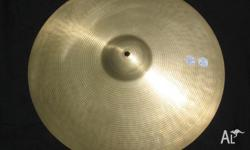"Paiste 18"" 602 Medium Crash 1974. Dark, Pure crash with"