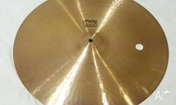Paiste '77 Vintage 2002 20in Black Label Ride. Great
