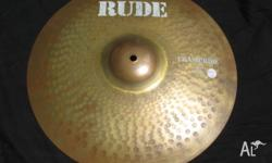 "Paiste RUDE 16"" Crash/Ride. Suits Rock, Metal and"