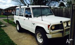 For sale/swap 89 pajero 4cyl manual goes very well