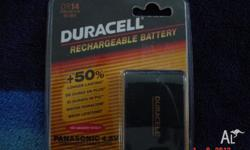 BATTERY PACK NEW DURACELL RECHARABLE BATTERY DR14