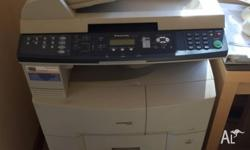 A Panasonic network printer. In good condition but