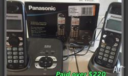 Brand new used for 2 weeks Panasonic phone, just used