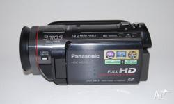 Panasonic HDC-HS700 Full HD Video Camera in great