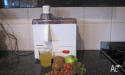 Great Panasonic juicer. It is very easy to operate and