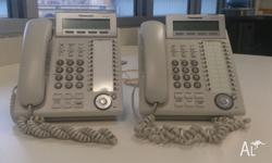2 x Used Panasonic KX-DT333 phones available ($59.95