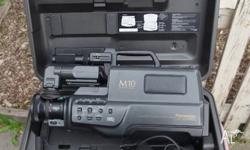 Professional VHS Camcorder, Good Cond. Work Well