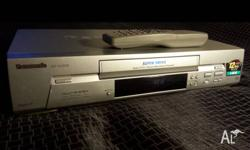 Panasonic NV-SJ200 VHS Player in excellent working