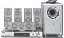 Complete SA-HT05 surround sound system with home