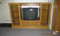 Panasonic TV & set top box very good working condition