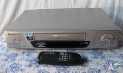 Panasonic VCR model NV-SD430 made in Japan 4-head long