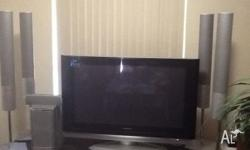 Panasonic Viera and surround sound Excellent condition