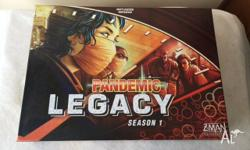 Selling my mint Pandemic Legacy board game. For those