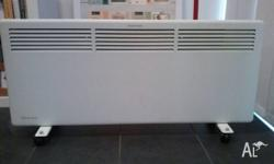 Panel heater 2200 w. Purchased from the good guys last