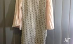 Excellent condition, worn once Baby pink print with