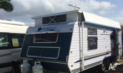 2009 Paramount Classic 18ft Pop - Top Caravan This