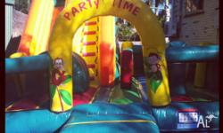 - combo Jumping castle- Jumping, Slide, Stairs,