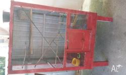 Aviary for budgies, canaries, small parrots etc