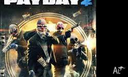 PAYDAY 2 BASICLY NEW PLAYED IT ONCE AWESOME GAME BUT