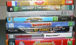 varous PC games all working P/U North Lakes $10.00