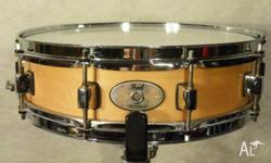 Pearl 14in x 4in Deep Maple Piccolo These versatile 10