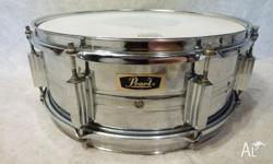 Pearl 1969 Vintage 14x5.5in Snare Drum Chrome over