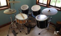 Hello. I am selling my Pearl Export drum kit. It is