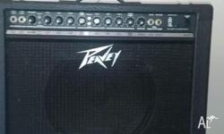 Classic Peavey transtube series. Rated 50 watts but