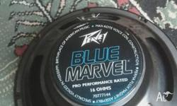 Peavey Blue Marvel guitar speaker. 12 inch, 75 watts,