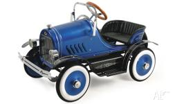 KALEE Deluxe Pedal Cars (BLue or Pink Roadsters or Fire