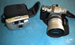 Pentax MZ-50 Zoom lens - normal/macro 28-80mm, with