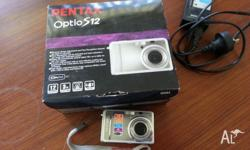 Pentax Optio S12 digital camera as new condition box &