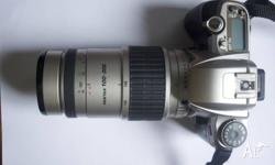 I am selling my Pentax MZ-6 SLR Camera which is in