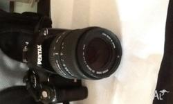 Pentax SLR digital camera. Model - k-m/K2000 Used