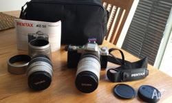 Make an offer. Comes with 2 lenses. Everything in