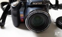 Pentax X90 12.1 MP Digital Camera with 26x