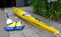 Perception Streamline Expedition/Sea Kayak in very good