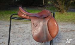 Pessoa event jumping saddle, in excellent condition,
