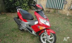 Hi there, For sale is a 2007 PGO G-Max 150cc Scooter.