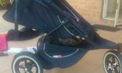Beloved Phil and Ted sports pram for sale. Has been in