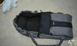 Baby carrier/ bassinet with handles. Excellent for