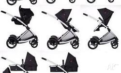 Great 4 wheel pram with so many configurations to suit