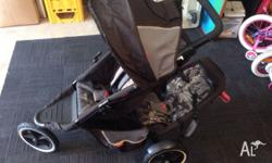Phil Tandem 3 Wheels Pram, paid $700+ but only used a