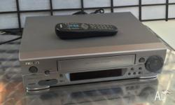 Great Philips VR299�75 VHS Video Cassette Recorder VCR