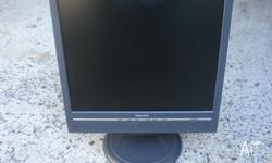 The monitor is in good condition, working and clean,