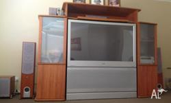 140cm Rear Projection Television Complete with