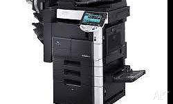 konica minolta bizhub 421 multifuntion photocopier